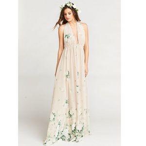 NWT Show Me Your Mumu Luna Halter Dress